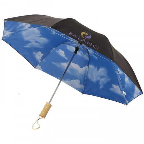 Parapluie Automatique 2 Sections 21' Blue Skies - PLUVIO