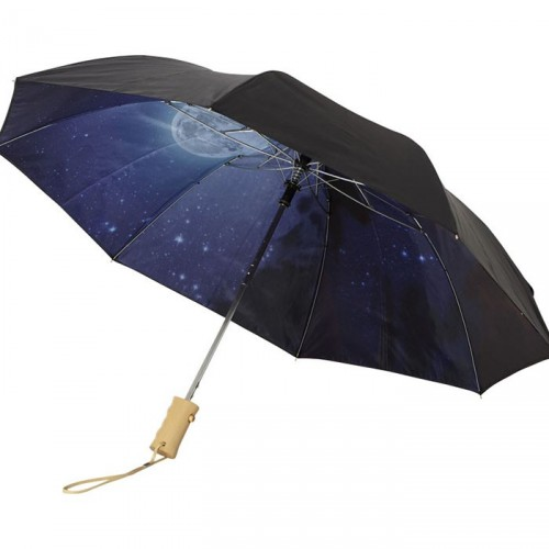 Parapluie Automatique 2 Sections 21' Clear Night Sky - RAIN