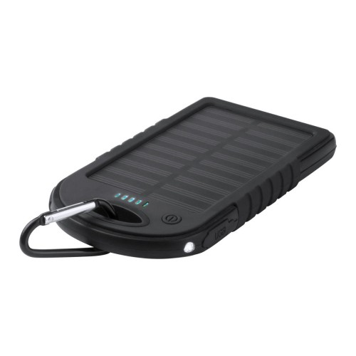 Power bank solaire 2 en 1 -...
