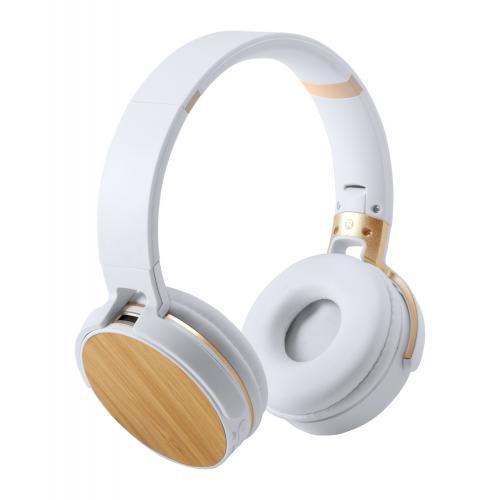 Casque bluetooth en Bambou...