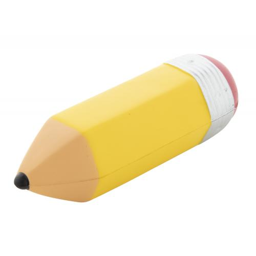 Balle anti-stress crayon -...